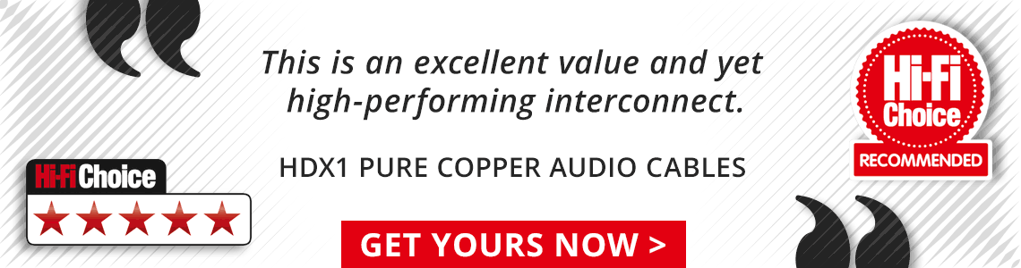 UK made pure copper audio cables, 5 star review
