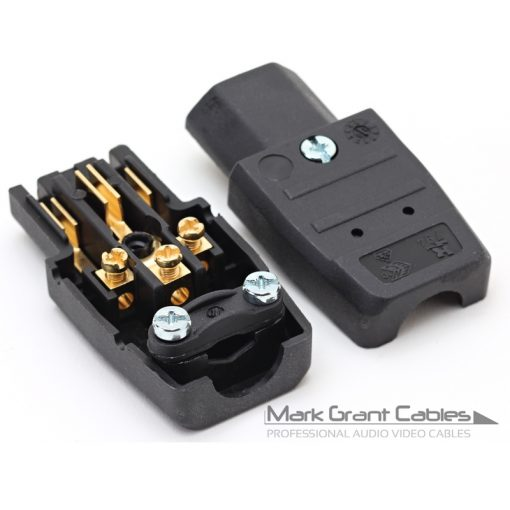 Martin Kaiser 794 IEC Connector - Gold Plated Contacts