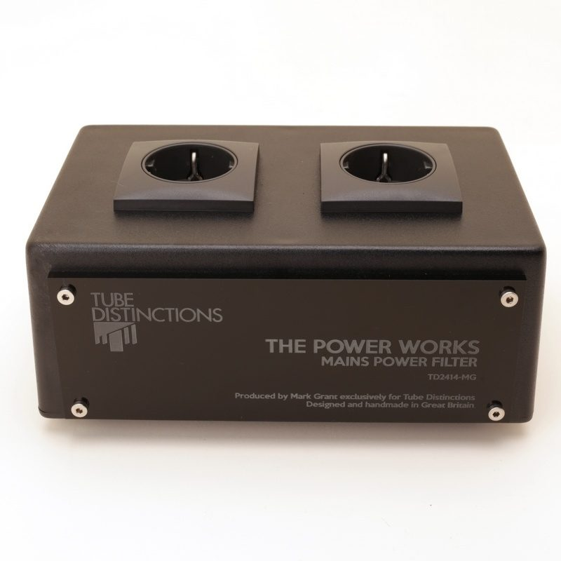 Tube Distinctions Mains power filter - Schuko sockets