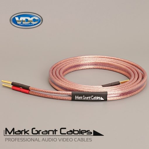 Van Damme 2 x 6mm Hi-Fi Speaker Cable UP-LCOFC - Terminated