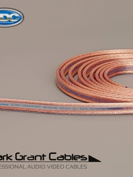 Van Damme 2 x 2.5mm Hi-Fi Speaker Cable UP-LCOFC - Unterminated