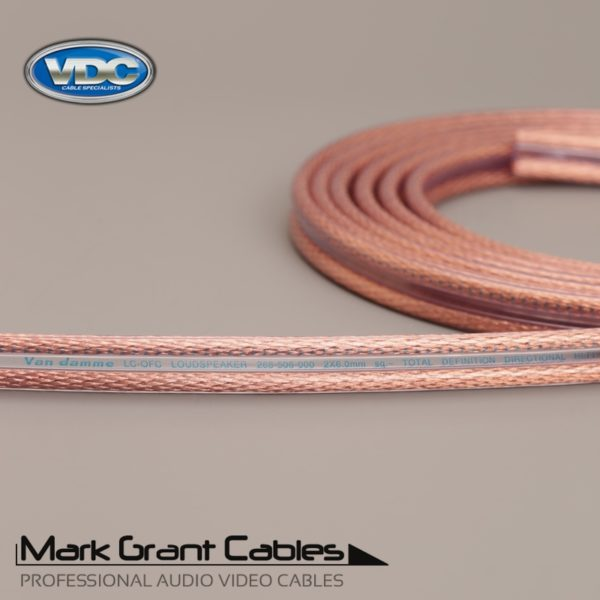 Van Damme 6mm Hi-Fi Speaker Cable UP-LCOFC - Unterminated