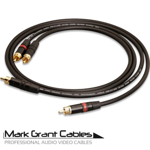 Van Damme Stereo Audio Cable with Neutrik Rean RCA connectors