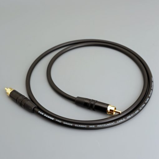 Van Damme Subwoofer Cable with Neutrik Rean RCA connectors