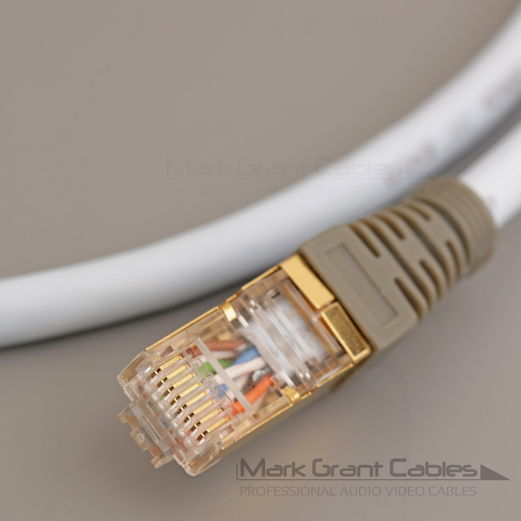 Supra CAT 8 ETHERNET cable 1.5-meter Made In Sweden THE BEST FOR NETWORK AUDIO!