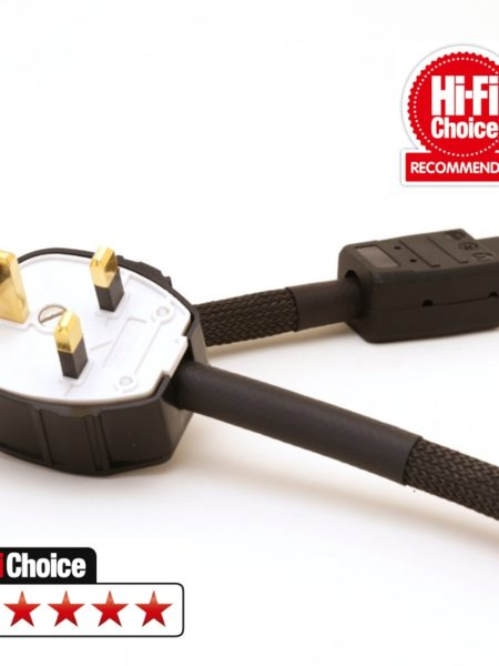 Mark Grant - DSP 2.5 Dual Screened power cable - Gold Plated