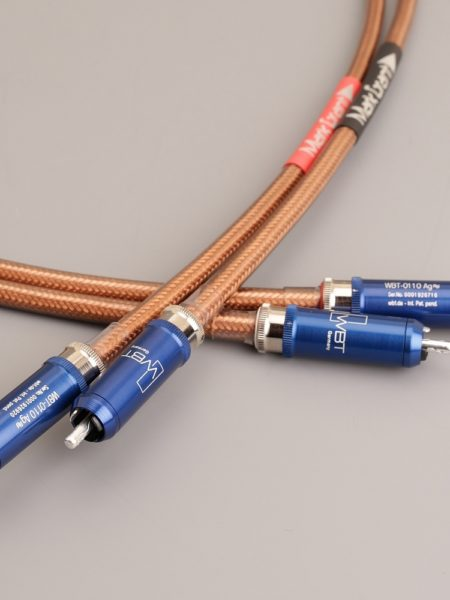 Mark Grant HDX1 WBT Edition - Pure Copper audio cables - Stereo pair