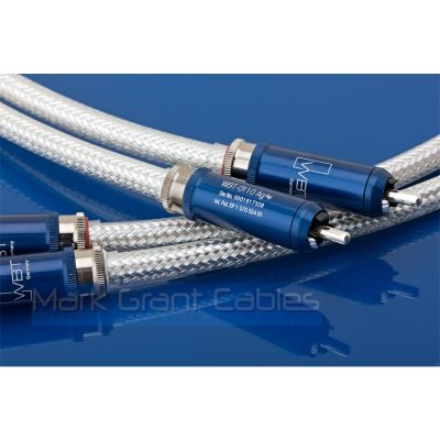 Oyaide FTVS-510 pure silver stereo cable fitted with WBT 0110 Ag
