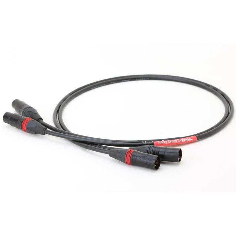 XLR to XLR - Canare L4E6AT star quad balanced - Pair of cables