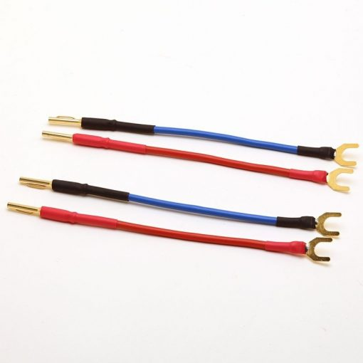 Jumper cables - 4mm Van Damme Spade to Banana